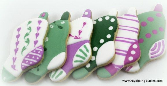 The Christmas stocking cookies