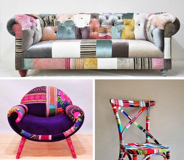Farvesammensætninger, mønstre og anderledes kreationer