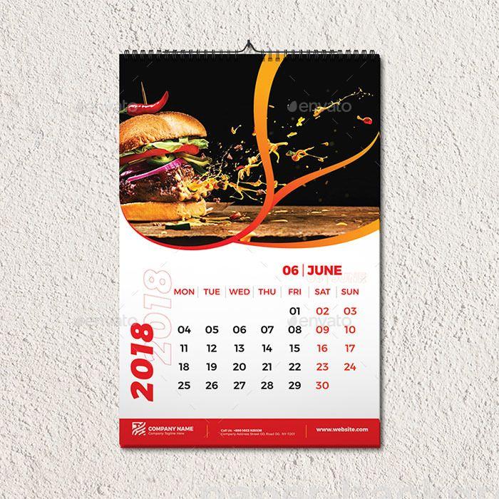 Wall Calendar Template Calendar Template Wall Calendar Templates