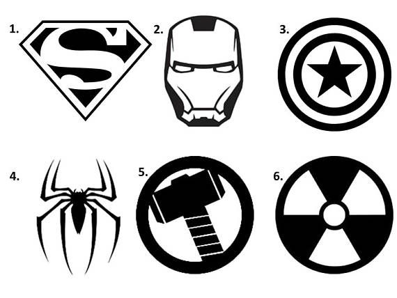 Super Hero Decal Superman Decal Spiderman Decal Iron Man Decal