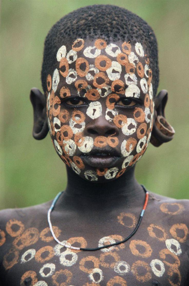 A beleza das Tribos Surma e Mursi