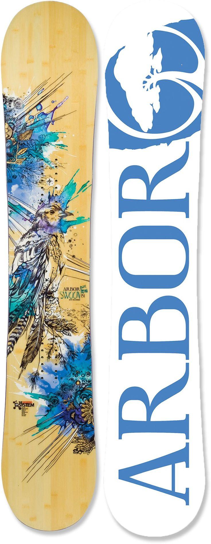 Arbor Swoon Snowboard $349, rocker, directional twin, Bamboo