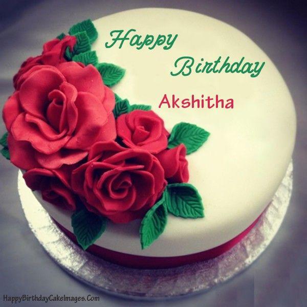 Birthday Cake For Girlfriend With Name Editor Happy Birthday Cake