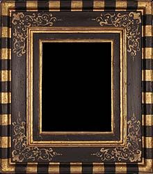 antique picture frame painted and gilded - Tuscany 16th century frame