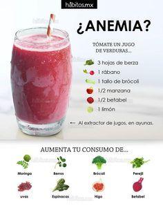 #Batidos Una solución para intentar conseguir reducir la #anemia es prepararte un delicioso batido de verduras. ¡Aquí te dejamos cómo se hace de manera muy sencilla! vía HÁBITOS: