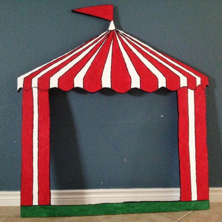 Circus tent styrofoam frame $35.00 email me eva.pedraza@gmail.com