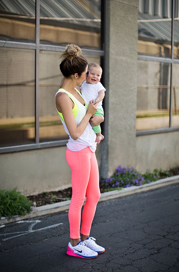 4 Colorful Workout Looks http://www.hellofashionblog.com/2014/09/4-colorful-workout-looks.html #MakeupCafe