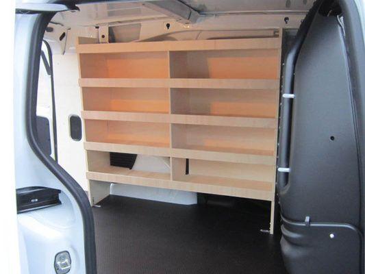 Kit aménagement utilitaire bois - Aménagement de véhicules