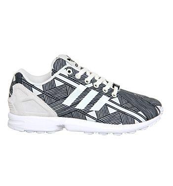 Adidas Zx Flux Black White Stripes