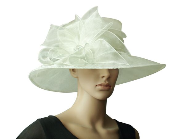 Qescgroup Only Offers The Real Commodities Covering Hats For Weddings Uk Las Along With Wedding Ivory Cream Crystal Organza Dress Hat