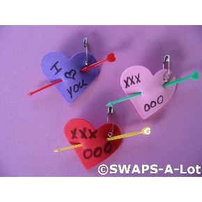 Girl scout valentines day swap