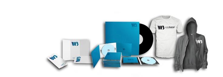 Wiseband - Pressage CD, DVD, Vinyl, Impression affiches, flyers, Fabrication tee-shirts, sweats, Merchandising