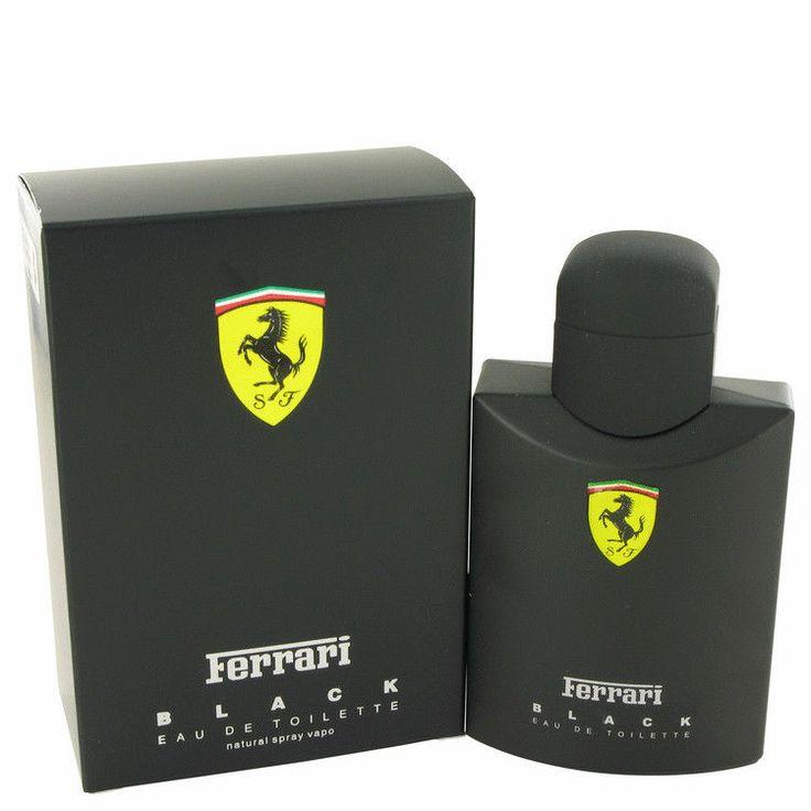 FERRARI BLACK 125ml EDT MEN PERFUME by Ferrari