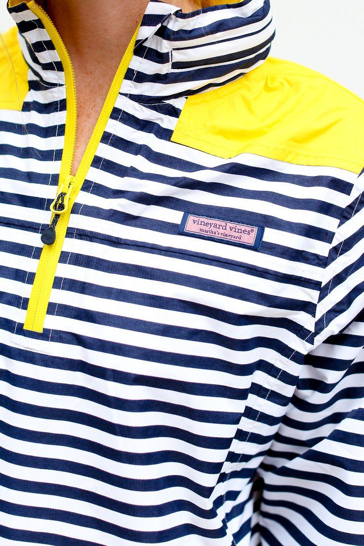 Striped Windbreaker