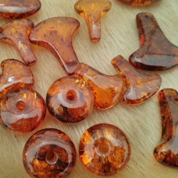 Amber beads (Viking Age) For more Viking facts please follow and check out www.vikingfacts.com don't forget to support and follow the original Pinner/creator. Thx