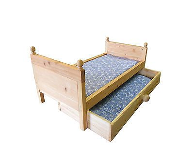 Doll Trundle Bed with Mattress Fits American Girl Doll or Any 18 inch Doll   eBay
