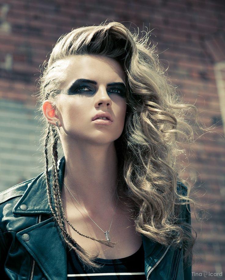 Phenomenal 1000 Ideas About Punk Rock Hairstyles On Pinterest Rock Short Hairstyles For Black Women Fulllsitofus