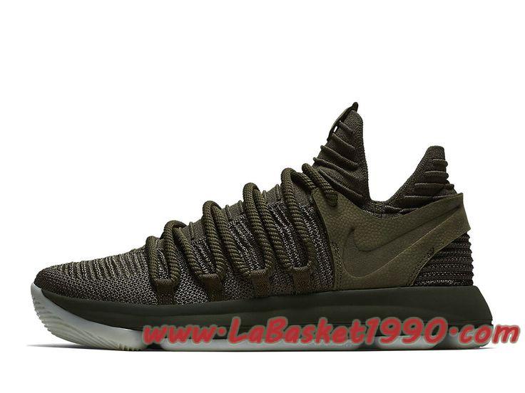 Nike KD 10 Finals PE 943298-900 Chaussures Nike Basket Pas Cher Pour Homme Noir