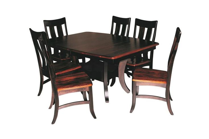 Amish Sierra Dining Table Set (Quick Ship) | Dining table ...