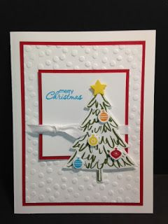 Peaceful Pines, Petite Pairs, Christmas Card, Stampin' Up!, Rubber Stamping, Handmade Cards