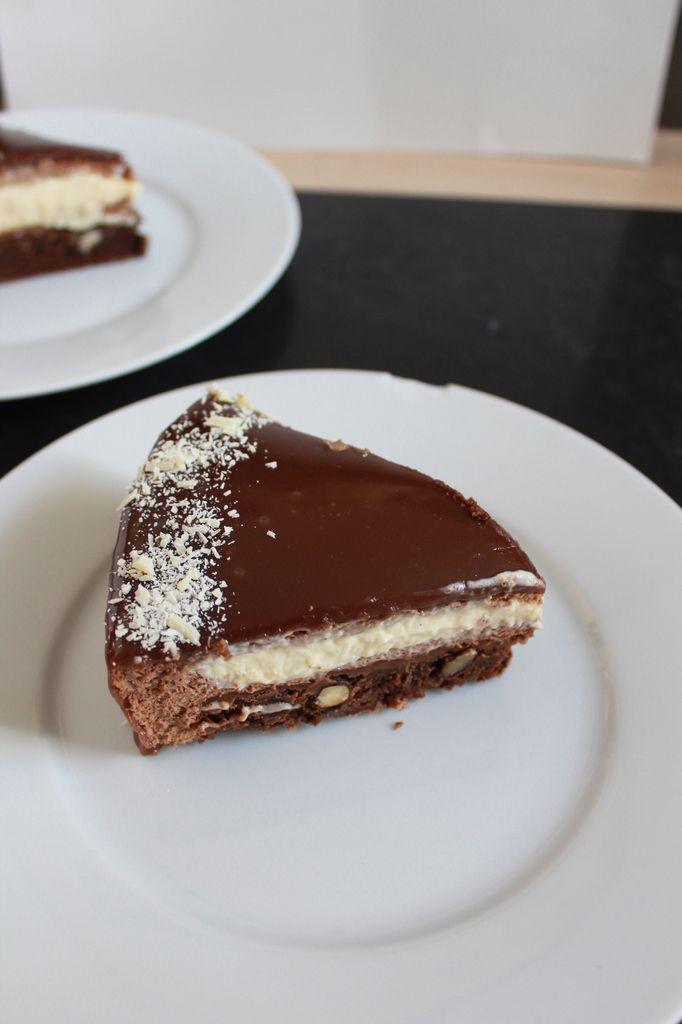 le beloha entremets vanille et chocolat au lait brownie. Black Bedroom Furniture Sets. Home Design Ideas