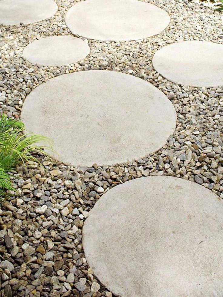 10 inspirerande projekt att gjuta i betong till din trädgård