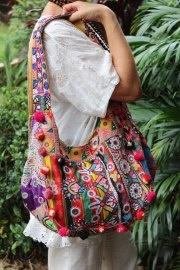 LALOOm Banjarah bags feature the vivid colours of Rajasthan