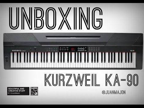 Tengo el presentimiento de que te va a gustar este video!! Unboxing Piano Kurzweil KA-90 (Español) https://youtube.com/watch?v=JDJ6CovZLkE