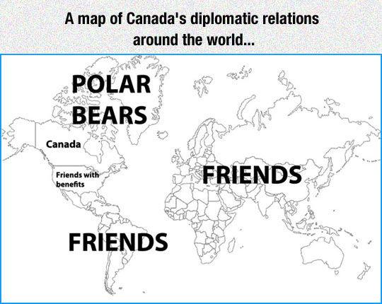 Canada's Diplomatic Relations