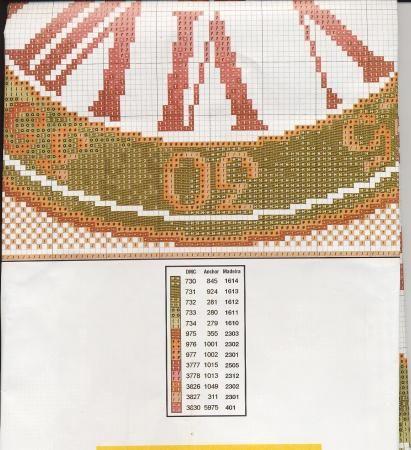 Orologio Numeri Romani 1d