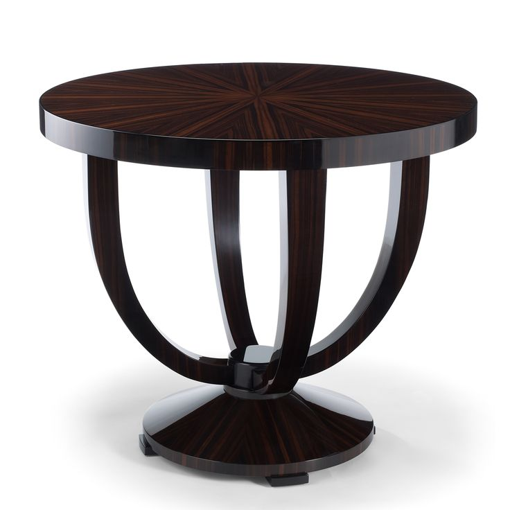 DAVIDSON London - The Hester Table in Massacar Ebony