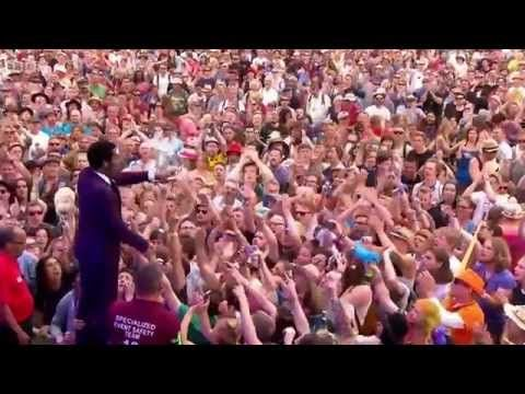Vintage Trouble - Run Like The River & Nobody Told Me (Glastonbury 2015) - YouTube
