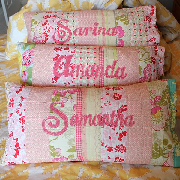 Name cushions by craftapple via Flickr & 128 best Name pillows images on Pinterest | Cushions Crafts and ... pillowsntoast.com