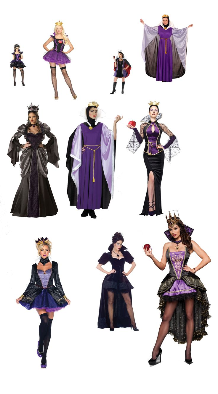 You can't toss an apple in a costume store without hitting an Evil Queen costume...