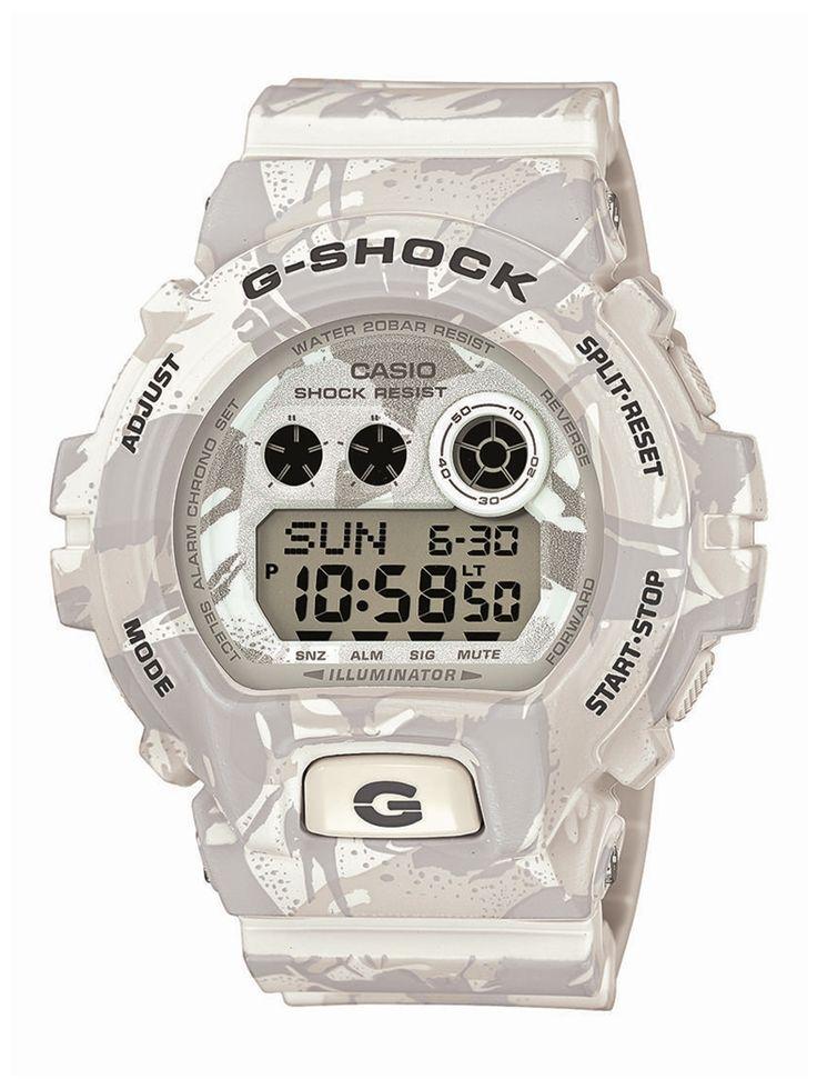 Casio G-Shock GD-X6900MC-7ER férfi karóra. Különleges külsővel rendelkezik, sportos megjelenést ad. Kényelmes viselet a műanyag szíjnak köszönhetően. Mai kornak megfelelően elemes óraszerkezettel rendelkezik. KATTINTS IDE!