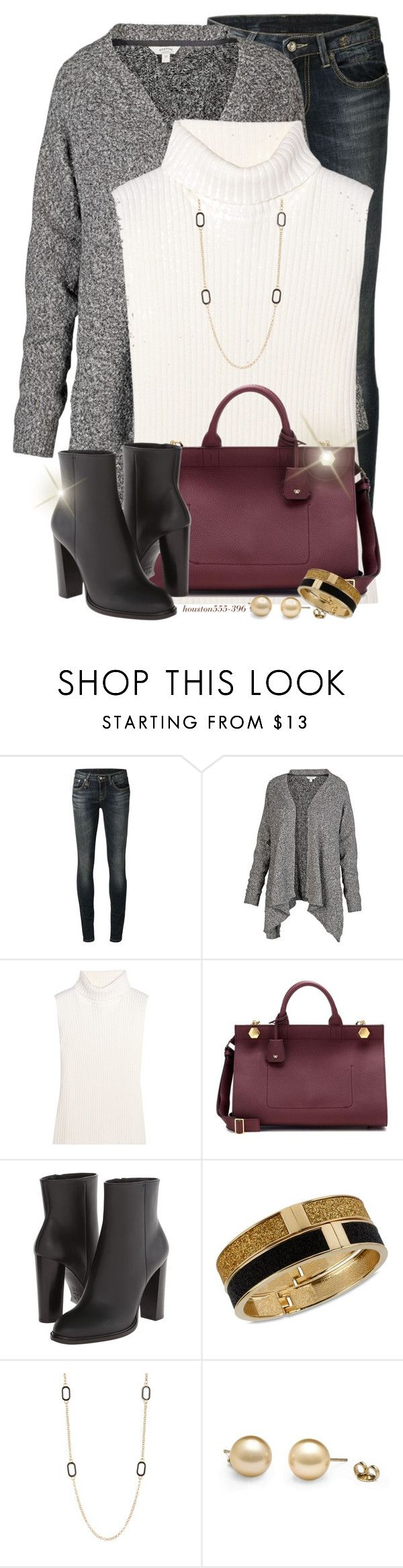 """""""Starting the new year with a few favorites! """" by houston555-396 ❤ liked on Polyvore featuring R13, Fat Face, 1205, Anya Hindmarch, Vince, Betsey Johnson and Nordstrom Rack"""