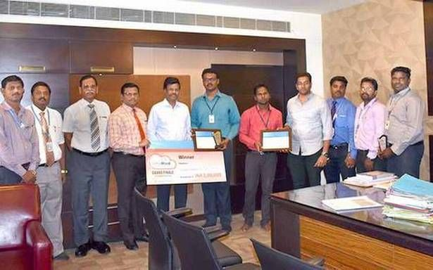 Engineering college students win technology contest #college