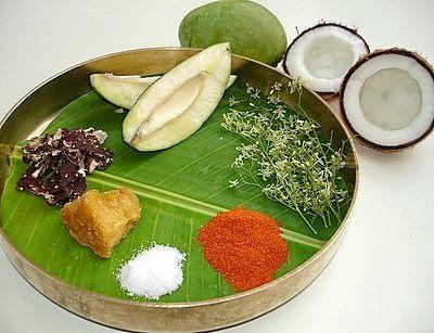 Ugadi Pachadi Ingredients