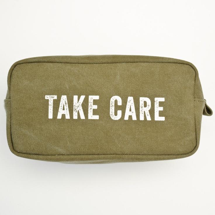 Take Care Canvas Dopp Kit