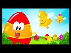 http://www.mondedespetits.fr/ Voici une petite chanson pour fêter Pâques ! Les cloches ont déposé Plein d'œufs colorés Cachés dans le jardin Chuuuuuuut... Ch...