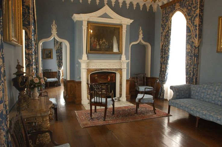 THE BLUE ROOM | St Michael's Mount, Cornwall (pic. St Michael's Mount)     ✫ღ⊰n