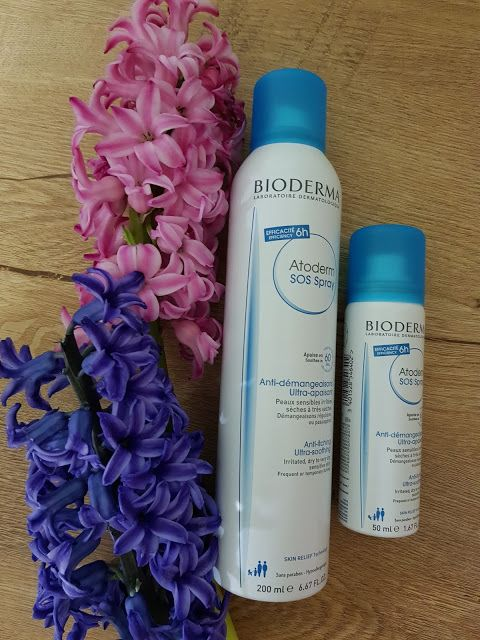 Atoderm SOS spray by Bioderma!