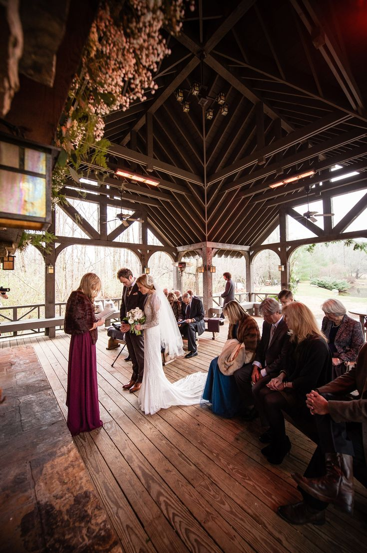 Rustic Winter Farm Wedding of Chris Thile + Claire Coffee