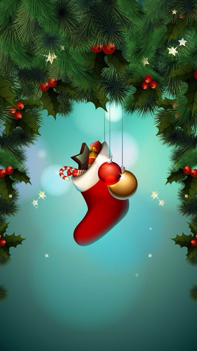 17 best ideas about iphone wallpaper christmas on