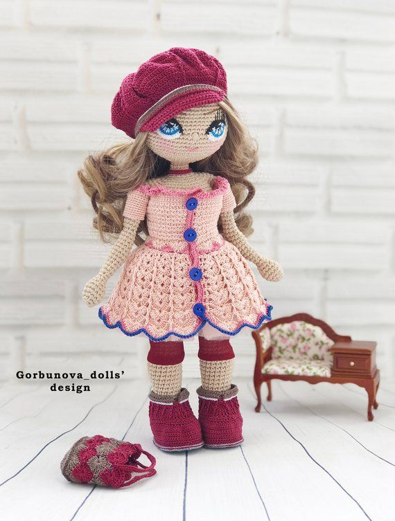 Crochet Doll - Amigurumi - Skirt for Bella the One Piece No-Sew ... | 753x570