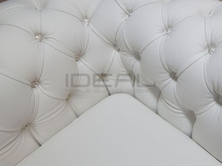 Chesterfield - Sofa Chesterfield Lady Skóra - Ideal Meble