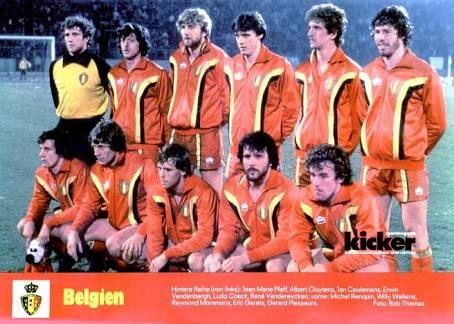 Resultado de imagen para seleccion de belgica 1960