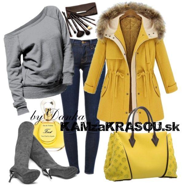 #kamzakrasou #sexi #love #jeans #clothes #dress #shoes #fashion #style #outfit #heels #bags #blouses #dress #dresses #dressup #trendy #tip #new #kiss #kisses Hrejivá žltá bundička - KAMzaKRÁSOU.sk