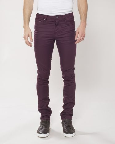 Pantalon slim Homme Chevignon burgundy Hiver 2015  85€