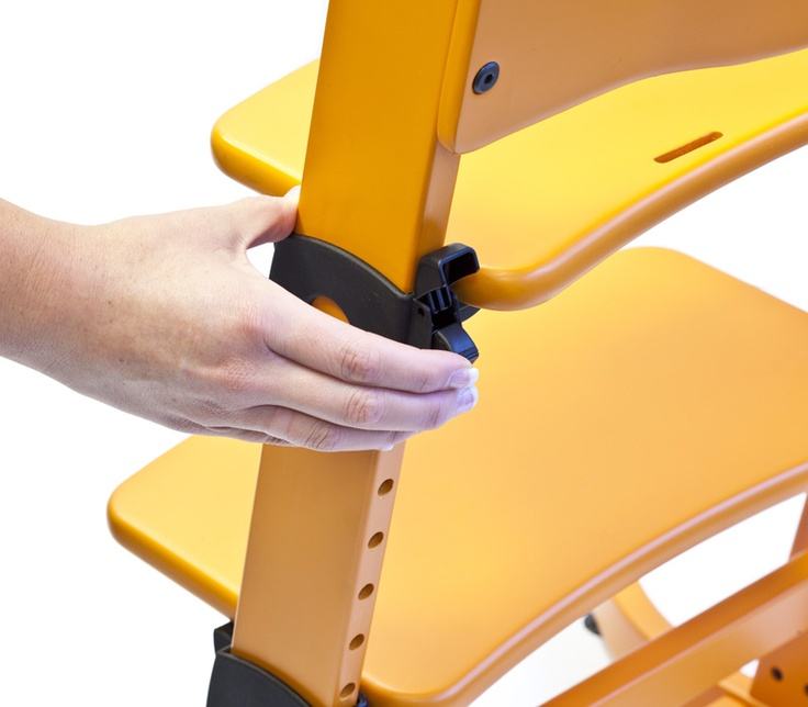 All new seat adjustment, with no tools required, not even one screw.